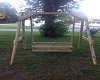 The Villager Garden Swing with 4 ft. wide seat